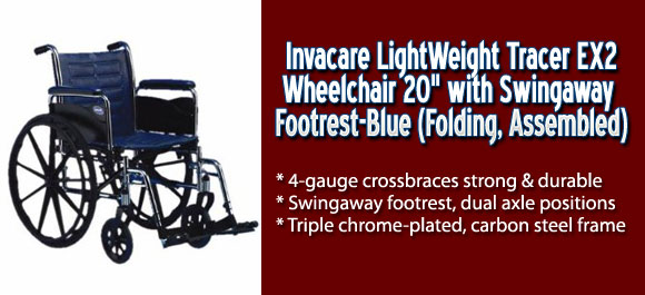 Invacare Light Weight Tracer EX2 20