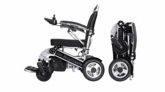 Foldawheel PW 1000XL power wheelchair